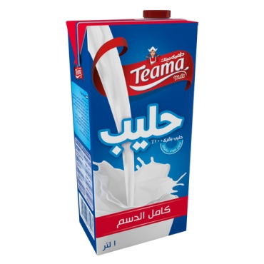 TEAMA UHT MILK FULL CREAM