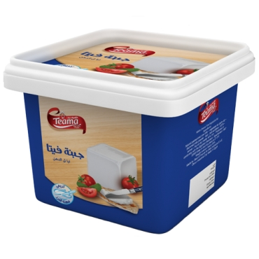 TEAMA WHITE CHEESE FETA TUBS